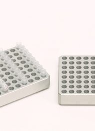 96 well aluminium PCR cooling block